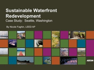 Sustainable Waterfront Redevelopment