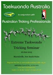 Your Invitation - Taekwondo NSW