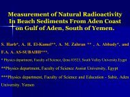 3-Measurement of Natural Radioactivity In Beach Sediments From ...
