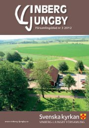 Församlingsblad nr 3 2012 - Vinberg-Ljungby pastorat