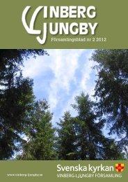 Församlingsblad nr 2 2012 - Vinberg-Ljungby pastorat