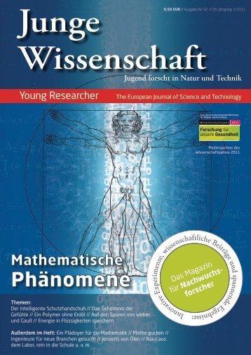 Phänomene - Junge Wissenschaft