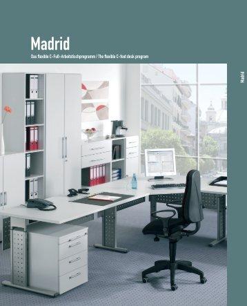 Schreibtische Madrid