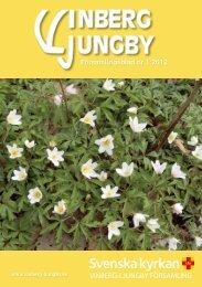 Församlingsblad nr 1 2012 - Vinberg-Ljungby pastorat