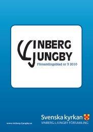Församlingsblad nr 3 2010 - Vinberg-Ljungby pastorat