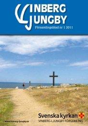 Församlingsblad nr 1 2011 - Vinberg-Ljungby pastorat
