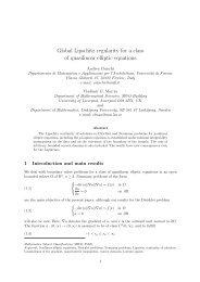 Global Lipschitz regularity for a class of quasilinear ... - ResearchGate