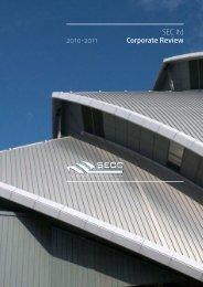 Corporate Review 2010-11 - SECC
