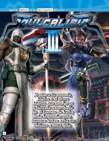 Descargar Soul calibur III - Mundo Manuales