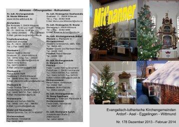 Gemeindebrief - Ev.-luth. Kirchengemeinde St.-Nicolai Wittmund
