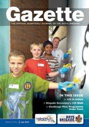 July 2008 - The Boys' Brigade