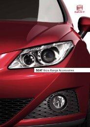 SEAT Ibiza Range Accessoires