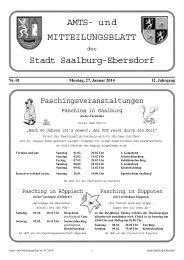 Nr. 01-2014 - Stadt Saalburg-Ebersdorf
