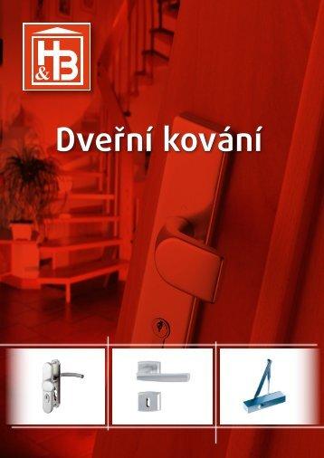Katalog dveřního kování HB (1,8 MB)