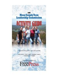 Activity Guide - Mesa County