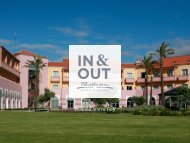 In & Out do Pestana Sintra - Pestana Hotels & Resorts