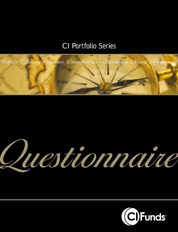 Questionnaire - CI Investments