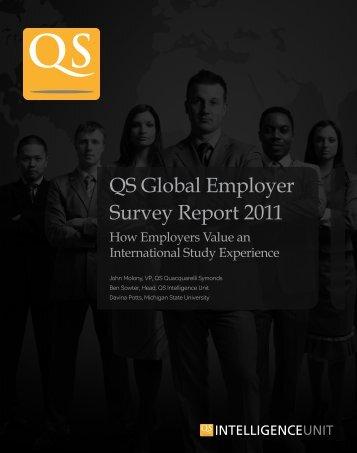 QS Global Employer Survey Report 2011