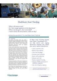 Healthcare Asset Tracking - Visonic Technologies