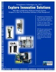 Explore Innovative Solutions - TWT Water Treatment Systems