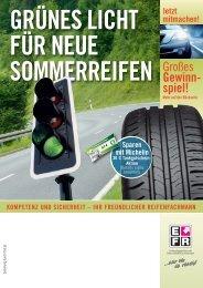 grünes licht für neue sommerreifen - HP-Reifendienst
