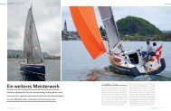 Ein weiteres Meisterwerk - Sunbeam Schöchl Yachtbau