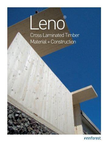 Cross Laminated Timber Material + Construction