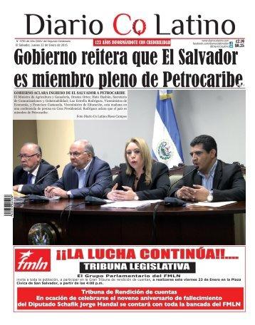 Edición 22 de Enero de 2015