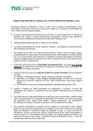 BASES CONCURS FESTA MAJOR SABADELL 2013 - ESDi