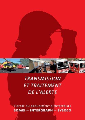Transmission eT TraiTemenT de l'alerTe - SYSOCO