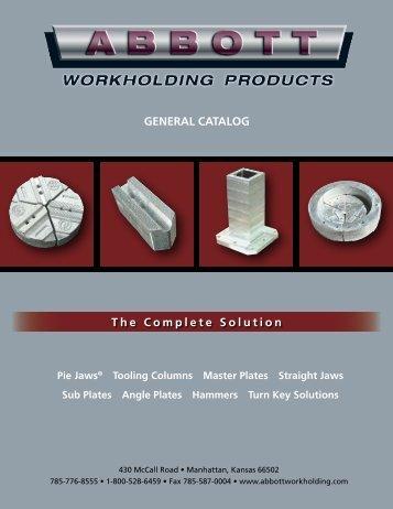 Abbott Products Catalog.pdf - JW Donchin CO.
