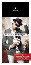So machen Sie Ihr Spiel. - Casinos Austria