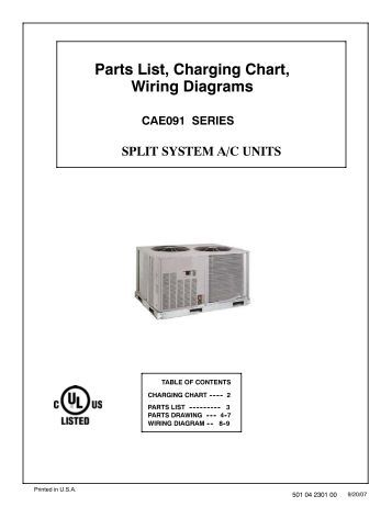 parts list charging chart tech labels wiring diagrams pgx3 36 parts list charging chart wiring diagrams cae091 series split