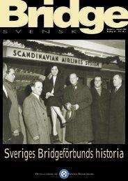 Sveriges Bridgeförbunds historia - Förbundet Svensk Bridge