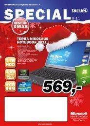 Sonderflyer Weihnachten 2011 – Wortmann – Terra - PC Spezialist ...