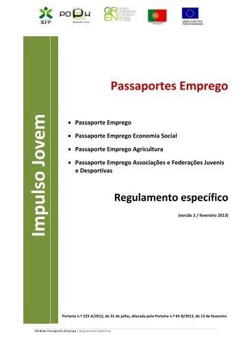 Regulamento - IEFP