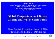 Climate Change and Water Safety Plans - Water Safety Portal
