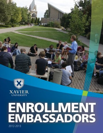 Ambassador Packet (PDF) - Xavier University