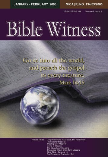 Missions - Bible Witness