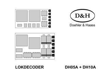 Anleitung Multiprotokoll-Lokdecoder DH05A - MDVR