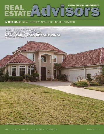 The Real Estate Advisors Magazine - January 2015