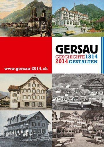 Falz-Flyer Gersau 2014