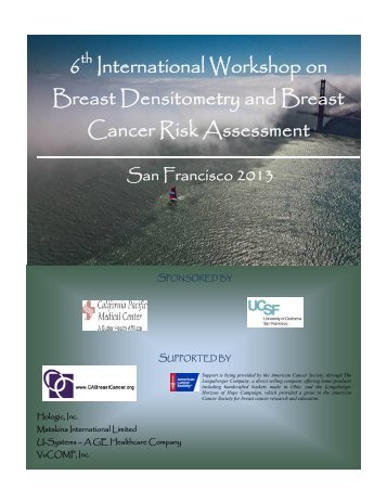 6th International Workshop on Breast Densitometry and Breast ...