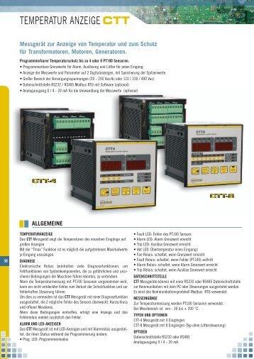 TEMPERATUR ANZEIGE CTT - Microtherm