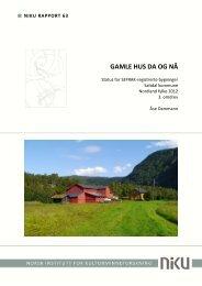 NIKU Rapport 63