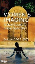 WOMEN'S IMAGING WOMEN'S IMAGING - Department of Radiology ...