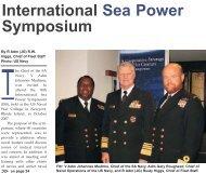 International Sea Power Symposium - Department of Defence