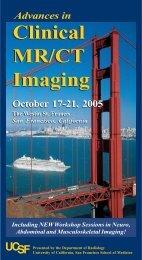 Clinical MR/CT Imaging Clinical MR/CT Imaging - Department of ...