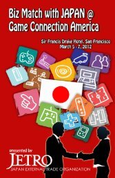 Available Products 10 - Japan External Trade Organization