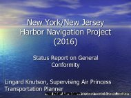 New York/New Jersey Harbor Navigation Project (2016) Status ...